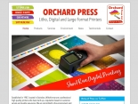 Orchard Press website homepage