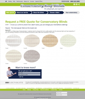 Choose a roof blind fabric