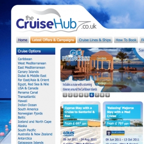 Cruise holiday website's maiden voyage for Swindon based business
