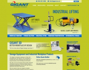 Gigant homepage