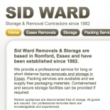 Sid Ward Removals move into the 21st century with new website