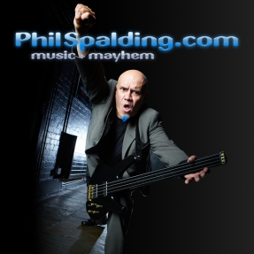 Phil Spalding, famous bass guitarist, tells stories of Music & Mayhem