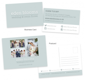 Redesigned printed marketing materials