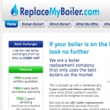 Firing up business for ReplaceMyBoiler.com with customer targeted website