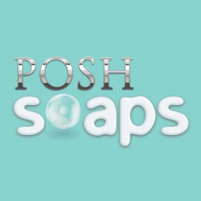Branding and responsive website design for Posh Soaps' ecommerce site