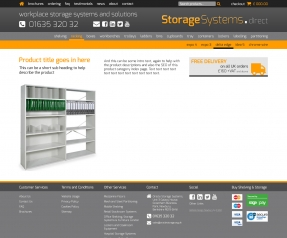 Storage Systems product page