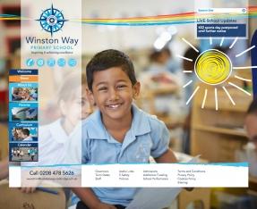 Winston Way Primary School homepage