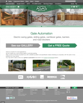 Gate automation and electric gates
