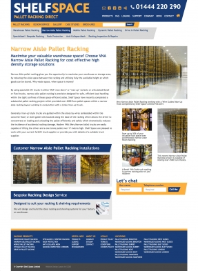 Pallet Racking product details
