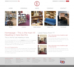 Furnishing TT Solutions and Interiors with a polished new responsive website