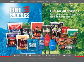 Fuel Express Homepage