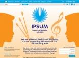 IPSUM website homepage