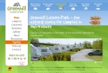 Greenhill Leisure Park website design