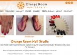 Orange Room Nail Studio homepage