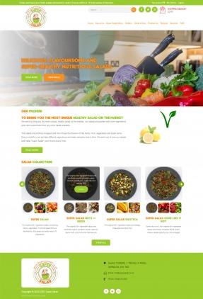 Super Salad Homepage