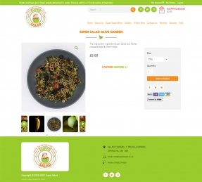 Salad product details