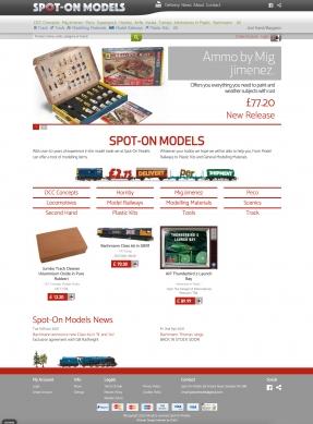 Spot On Models Homepage
