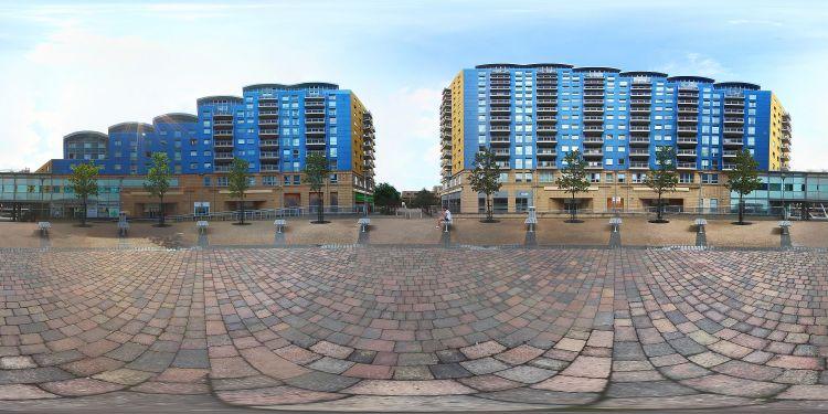 Basingstoke Town Centre 360 panorama