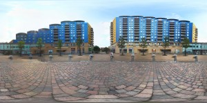 Basingstoke Town Centre 360 panorama