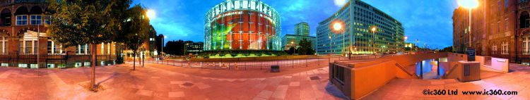 IMAX Cinema London panoramic photo